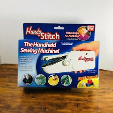 As Seen On Tv Handy Stitch Handheld Sewing Machine - New Open Box