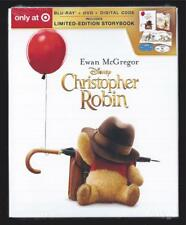 DISNEY CHRISTOPHER ROBIN WINNIE THE POOH BLU-RAY + DVD TARGET *NO DIGITAL HD*