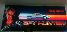 SPY HUNTER Dedicated Arcade Machine MARQUEE New SCREEN PRINTED