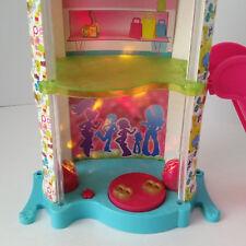 Polly Pocket 2008 2 Story Mall with Escalator Disco & Shop Light & Sound + 10pcs
