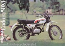 YAMAHA DT50M PAINTWORK DECAL SET 1979 WHITE MODEL