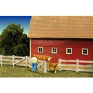 Monroe Models 2310 - Barn Yard Fence  - HO Scale Kit