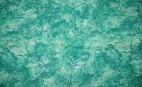 Baumwoll-Stoff Flanell - grün marmoriert (13,- €/m)