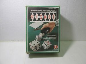 Vintage 1975 Lakeside Luxus Familie Kismet Schnell Aktion Würfel Spiel gm1468