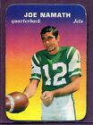 JOE NAMATH ~ 1970 Topps Football Glossy Inserts Card #29 ~ Grade: EX+ (B187)