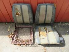 Pair Of 68 69 B Body Mopar Front Bucket Seat Cores