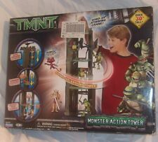 TEENAGE MUTANT NINJA TURTLES MONSTER ACTION TOWER PLAY SET WITH ORIGINAL BOX