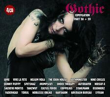Gothic Compilation Part 58 + 59 BOX von Various Artists 4 CDs Neu not sealed,