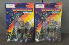 MOC 1990s Gargoyle Protector He-Man MOTU Gargoyles KO Horned Head Bootleg Figure
