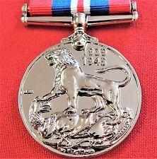 **WW2 THE 1939/45 WAR SERVICE MEDAL RIBBON REPLICA MEDAL MOUNTING ANZAC