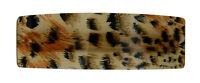 Ella Jonte Haarspange beige braun schwarz Animal Print Leopard Barrette Geschenk