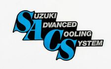 Genuine Suzuki GSX-R750 F-G 1985-1986 Frame Cover Emblem 68131-27A00-7VR