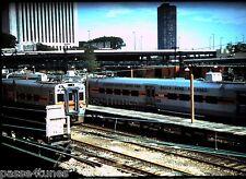 ORIGINAL 35mm SLIDE:Chicago South Shore & South Bend Railroad:  Passenger Train