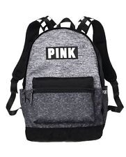 Victorias Secret Pink Logo Marled Large Campus Backpack Bookbag Carry On Choose