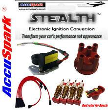 FORD PINTO électronique Conversion Kit Câbles,bougies iridium,bouchon & rotor