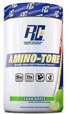 RONNIE COLEMAN AMINO TONE 30 SRVS - AMINOTONE BCAA AMINO ACID POWDER SOUR APPLE