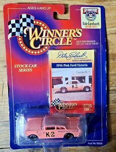 Winner's Circle 50th Anniversary 1956 Pink Ford Victoria Dale Earnhardt #K-2