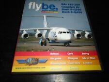Flybe BAe 146-200, Canadair RJ, Dash 8-Q200 just planes    dvd