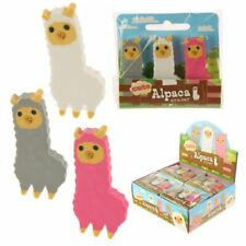 Alpaca Erasers Set of 3