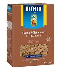 5x Pasta De Cecco Pasta mista integrali n. 120 Vollkorn italienisch Nudeln 500 g