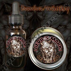 Devil's Mark Devil's Cut Beard Balm Oil Triple Six Artistry Bourbon Whiskey