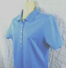 Nike Golf Women's Shirt Medium Dri-Fit  394665 BLUE