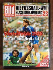 WM Klassiker DVD 1986 Deutschland vs Mexico #23 BamS unglaubliche Stimmung