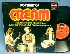LP CREAM - PORTRAIT OF // HOLLAND POLYDOR - TOP ZUSTAND VG++ MINT-