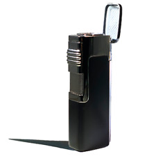 Eternity Butane Quad - Jet Torch Lighter Adjustable Flame Refillable Windproof