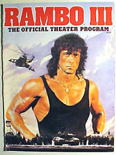 """""""RAMBO III"""" The Story of John Rambo in Pictures - Official 1988 Souvenir Program"""