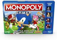 Monopoly Gamer Sonic The Hedgehog Edición Juego de Mesa Mono Poly Edad 8+ Hasbro