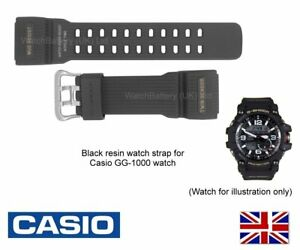 GENUINE CASIO Watch Strap Band for GG-1000, GG-1000-1A, GG1000 10517723 - Black