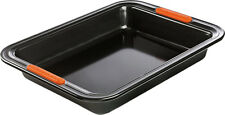 NEW LE CREUSET RECTANGULAR CAKE TIN MOULD BAKING PAN BAKEWARE NON-STICK 28CM