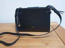 Radley black leather cross body bag