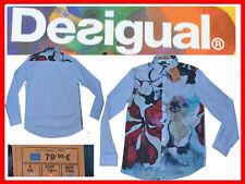 DESIGUAL Camisa Hombre M L XL XXL Tienda 80 E ¡Aquí Por  Menos! DE19 N1G