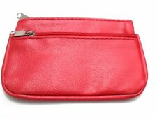 Faux Leather Coin Purses for Women with Key Holders