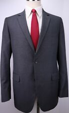 Brooks Brothers Fitzgerald Two Button Gray Striped Wool Suit 42 L 38 29 Flat