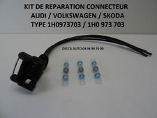 KIT REPARATION CONNECTEUR AUDI VW SEAT SKODA 1H0973703 NEUF FACILE A MONTER
