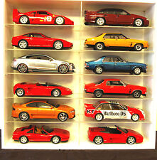 Model Car Display 1:18 Diecast,Biante,Hotwheels,Burago,Sparx,Autoart ( WHITE )