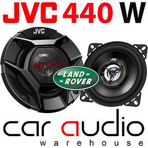 "Land Rover Defender 90 Front Dash JVC 440 Watts 4"" inch 10cm 2 Way Speakers Pair"