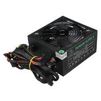 1500W PC Power Supply Computer PFC RGB ATX Gaming PSU ED Fan Quiet  ❤ NEW  K