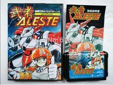 Aleste Japanese for Sega MegaDrive Video Game console system 16 bit MD card