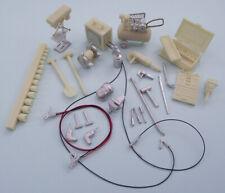 Kit Form Services #Tqm164 workshop equipment. kit unpainted. 1/24th scale.