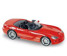 """NOREV 1/43 DODGE VIPER SRT10 Convertible 2006 couleur """"ROUGE""""!!!!"""