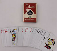 TAHOE No.84 Club Poker Back No.9  Playing Cards By Arrco Playing Cards Co