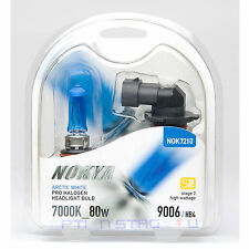 Nokya Arctic White HB4 9006 Headlight Fog light bulb 7000K Stage 2 Low Beam