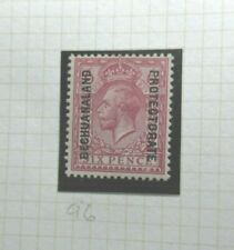 BRITISH BECHUANALAND POSTAGE STAMP SG97 KGV SIX PENCE PURPLE  UNUSED