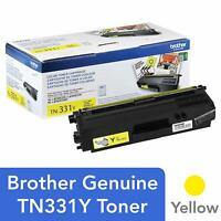 SEALED Brother Genuine Standard Yield Replacement Yellow Toner Cartridge