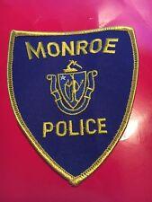 Monroe Massachusetts Police patch