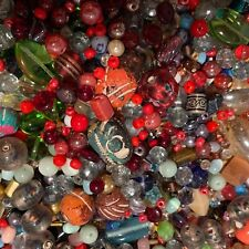 NEW 6/oz Multi-ColorMIXED LOOSE BEADS LOT GLASS, Gemstone